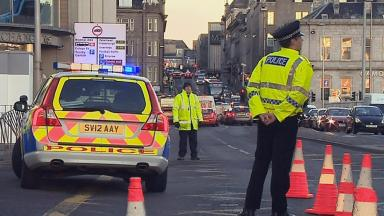 Market Street: Pedestrian dies after collision.
