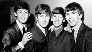 The Beatles (l-r): Paul McCartney, John Lennon, Ringo Starr and George Harrison, pictured in 1963.