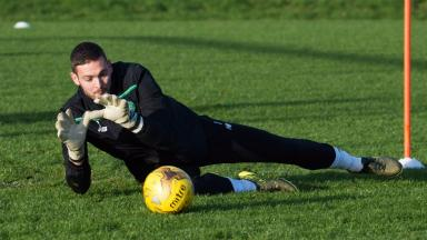 Coaching: Craig Gordon is looking to the future.