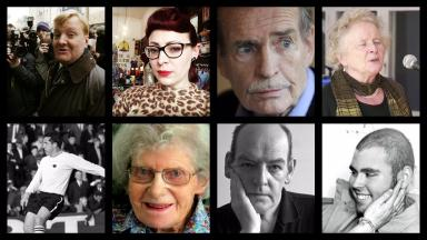Remarkable: Eight Scots who died in 2015.
