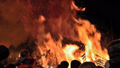 Bonfire: Alternative ways to see in the New Year.