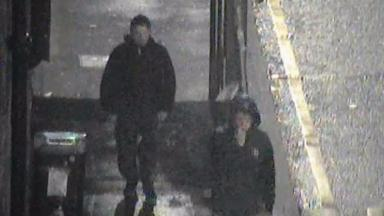 Assault: CCTV footage released of two men hunted in police inquiry.