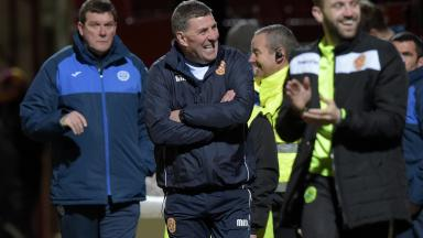 Mark McGhee was delighted with his side's result.