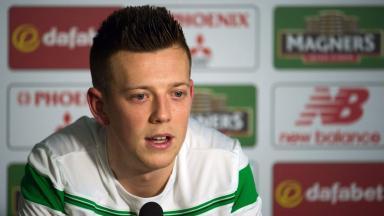 Form: Callum McGregor has found first-team football against at Celtic.
