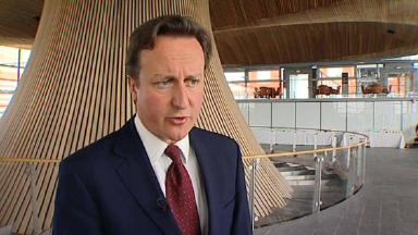 'Massive powers': Prime minister David Cameron.
