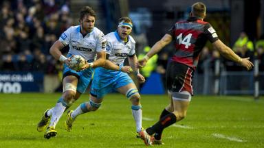 Ryan Wilson, Glasgow Warriors, Edinburgh, Murrayfield