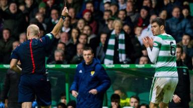 Dismissed: Nir Bitton was shown red against the Jags.