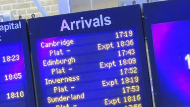 Train delays: ScotRail has apologised to passengers.