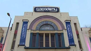 O2 Academy: The dance venue where Lee Kelly collapsed on Hogmanay.