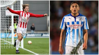 Bosman: The pair could sign for the Ibrox club in the summer.