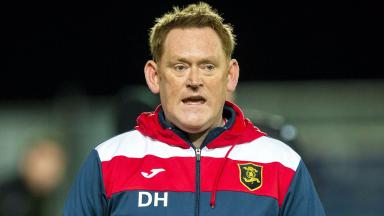 David Hopkin will be Livingston's manager until the end of the season.