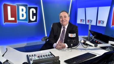 Alex Salmond: Former First Minister's new radio show.
