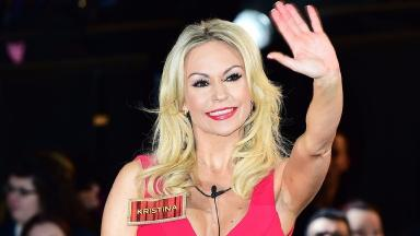 Celebrity Big Brother contestant Kristina Rihanoff