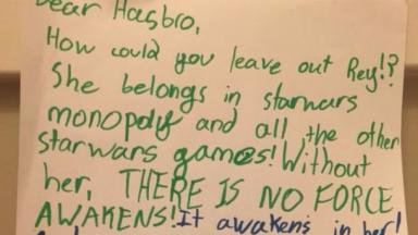 Star Wars Monopoly to include Rey after letter from eight year old fan