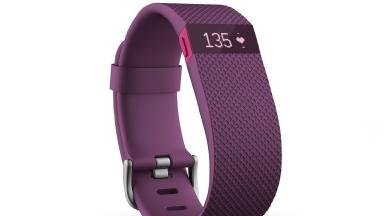 The Fitbit Charge HR.