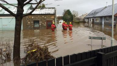 Inverurie: Town is one of the flood-hit areas that could get a cash boost.
