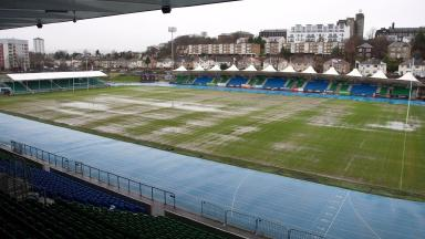 Scotstoun's pitch has been under heavy rainfall in recent weeks.