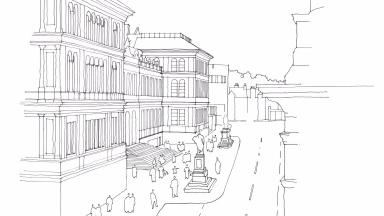 Sketchy: An artist's impression does not exactly give a gleaming insight into the project