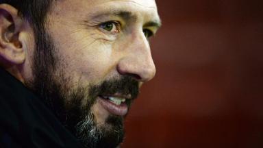 Target: Derek McInnes has his sights set on cup success.