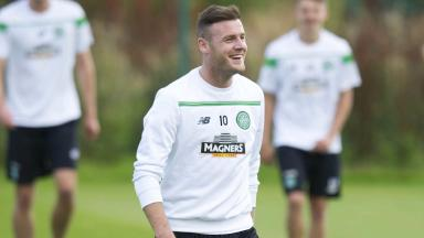 On the move: Anthony Stokes is likely to leave Celtic on a loan deal.