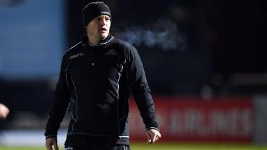 Dejection: Gregor Townsend was left disappointed.