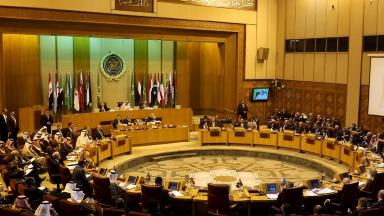 Arab foreign ministers held an emergency meeting at the Arab League in Cairo, Egypt.