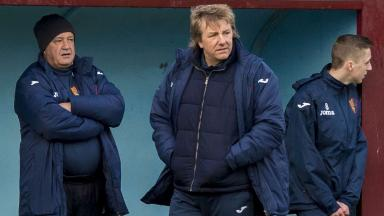 East Kilbride manager Billy Ogilvie.