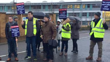 Strike: Teachers reach agreement with council in dispute.