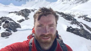Luke Robertson: Raised £60,000 for charity.