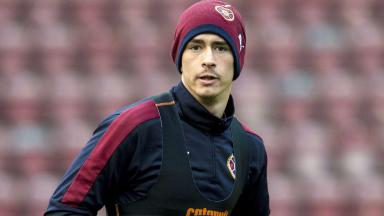 Jamie Walker could return for Hearts' derby with Hibernian.