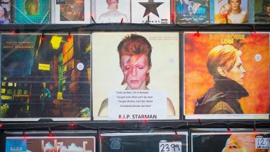 Classic David Bowie albums have flooded the official charts.