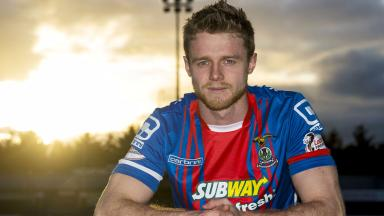 New Inverness CT signing Alex Fisher.