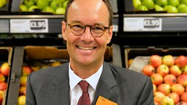 Sainsbury's Chief Exec Mike Coupe