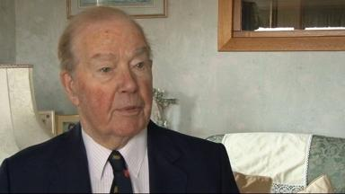 Sir Albert McQuarrie: Speaking to STV following death of Margaret Thatcher in 2013.