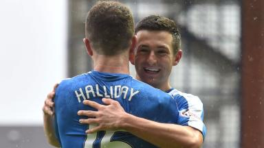 Jason Holt and Andy Halliday have signed new contracts with Rangers.