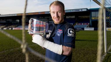 Ross County's Liam Boyce is the Ladbrokes Premiership player of the month award winner for the month of December.