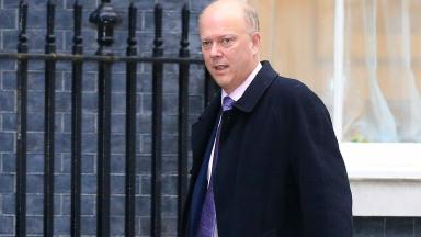 Chris Grayling said Britain's relationship with the EU was 'disastrous'.