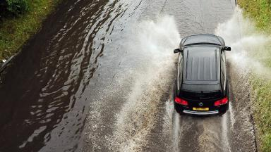 Flooding: Drivers charged with ignoring road closure signs.