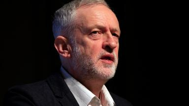 Labour leader Jeremy Corbyn wants to 'move to a nuclear-free world'.