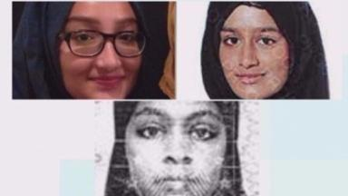 Schoolgirls Kadiza Sultana, Shamima Begum and Amira Abase are thought to have fled to IS-held Syria.