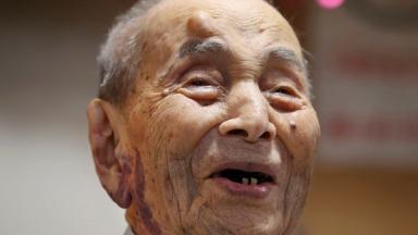 Yasutaro Koide was the world's oldest man at 112.