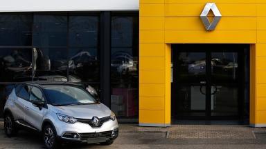 Renault dealership in Strasbourg, France