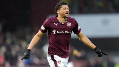 Birmingham City watched Osman Sow in Hearts' 6-0 win at the weekend.