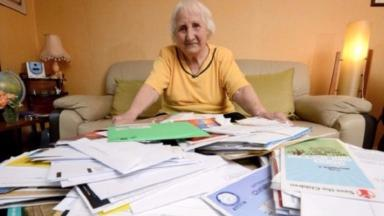 92-year-old Olive Cooke was 'overwhelmed' by hundreds of letters each month