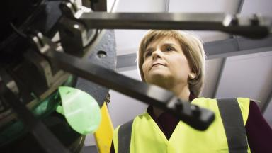 Nicola Sturgeon: Will meet senior BP executives in February.