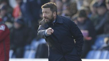 Tight budget: Derek McInnes knows he can't spend as big as Celtic.