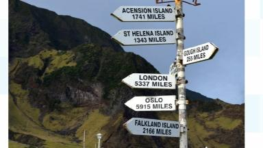 Tristan da Cunha is so remote that it only has one village