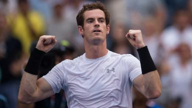 Easy progress: Andy Murray is into the third round.