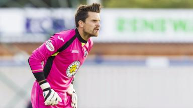New deal: Tomas Cerny has pledged his future to Partick Thistle.