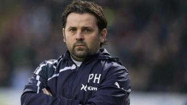 New signing: Paul Hartley is looking forward to working with his new striker.